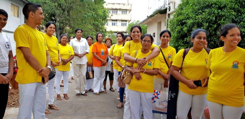 Maaragama Apeksha Hospital Donation- Dr Chamin Warnaluka - Sethsada Yoga
